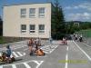 2009 - zriaďenie dopravného ihriska, maľovanie čiar, zakúpenie dopravných značiek, detských trojkoliek